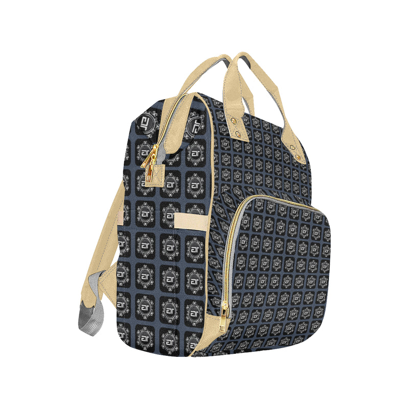 ENE LUXE TOTE - Denim Multi-Function Backpack