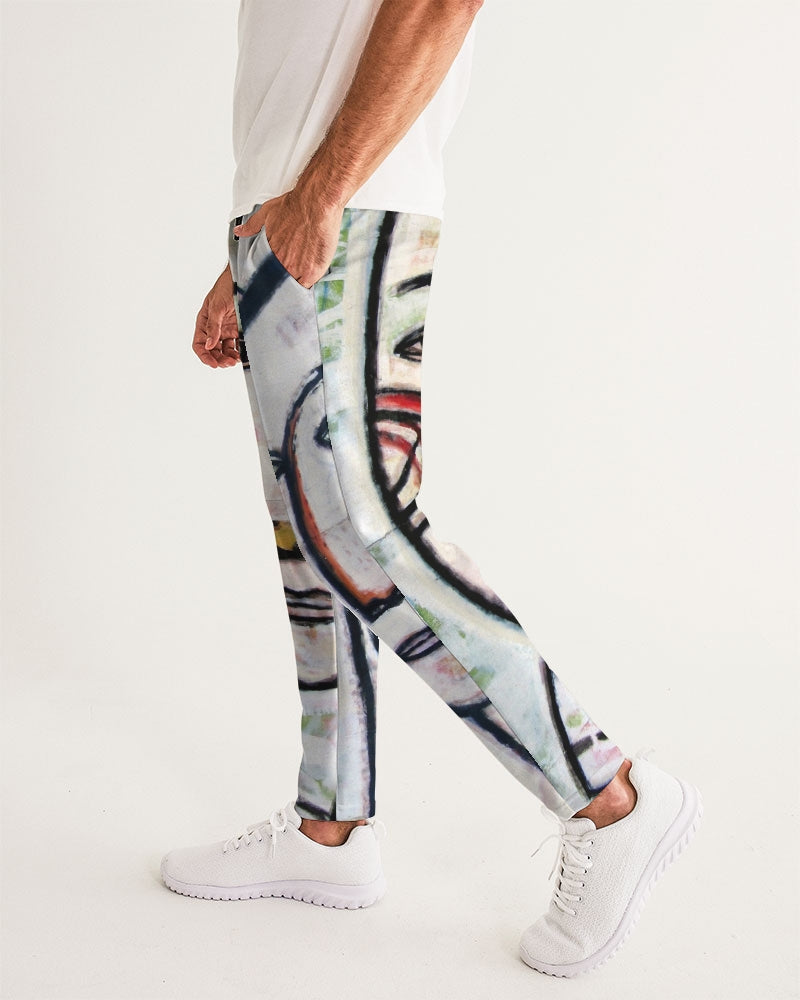 Abstract Gemini Men's Joggers