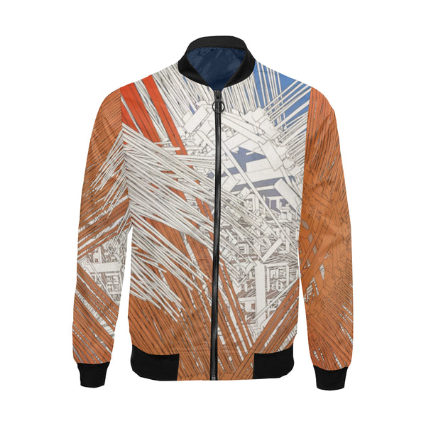 Network Bomber Jacket for Men - ENE TRENDS