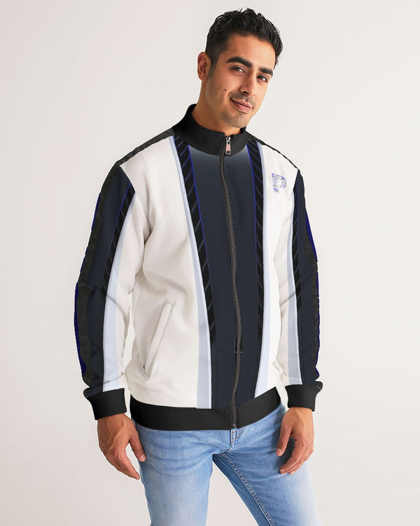 Exclusive PS5 Customized Men's Stripe-Sleeve Track Jacket
