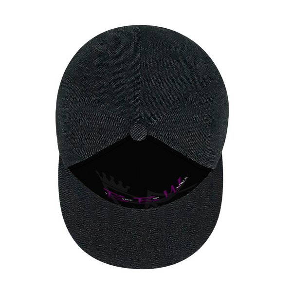 Brian Angel BBW Adult Denim Black Baseball Hat