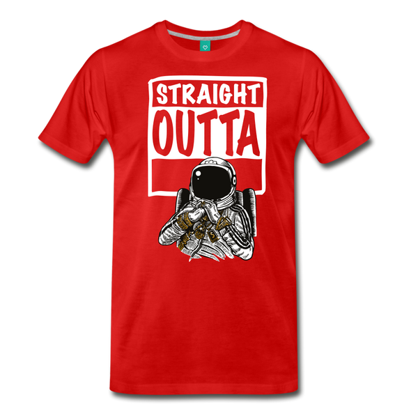 STRAIGHT OUTTA SPACE Collectible T-Shirt - ENE TRENDS