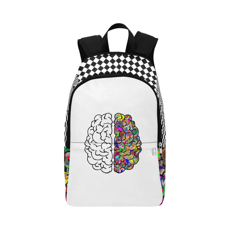 A Beautiful Mind Canvas Backpack