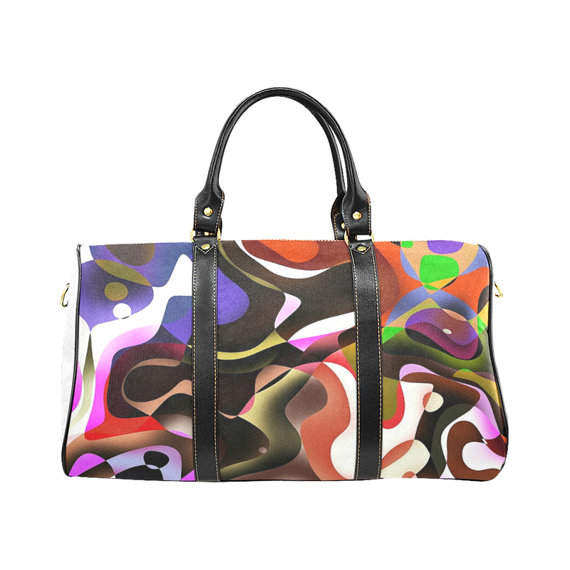 UNTAMED NATURE Large Waterproof Travel Bag by ART MANIFESTED - ENE TRENDS