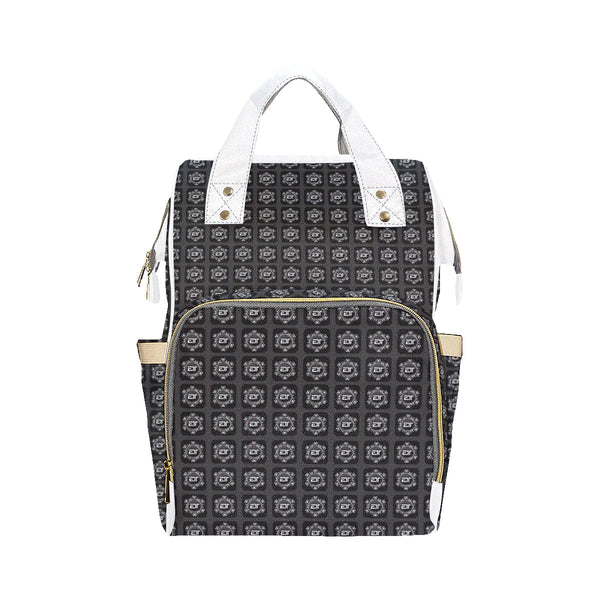 ENE LUXE TOTE - Ash Black Multi-Function Backpack