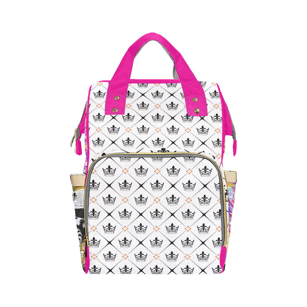 Estratto Reale Pink Multi-Function Backpack