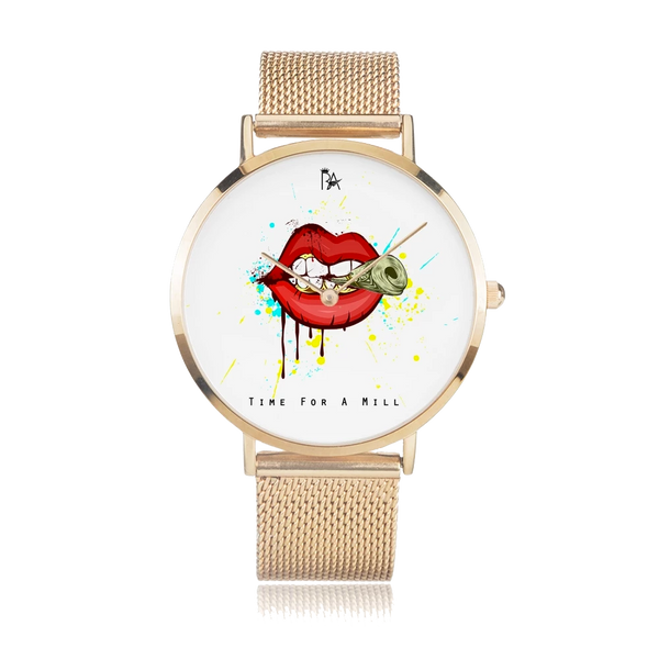 Money Hungry Time For A Mill SS2A Watch (Brian Angel Collection) - ENE TRENDS