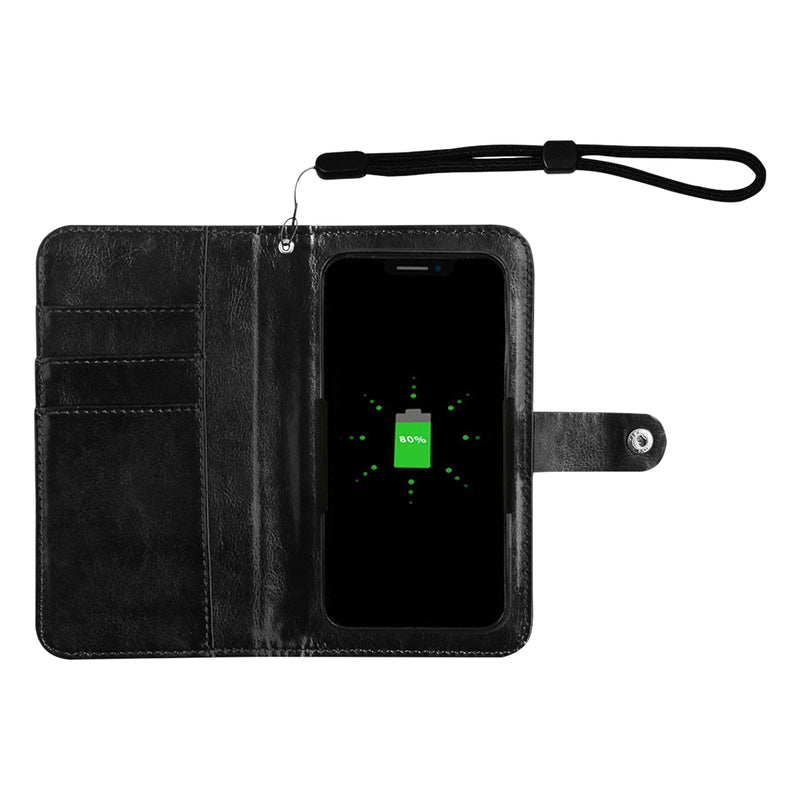 DISTANCE AM Phone Leather Phone wallet