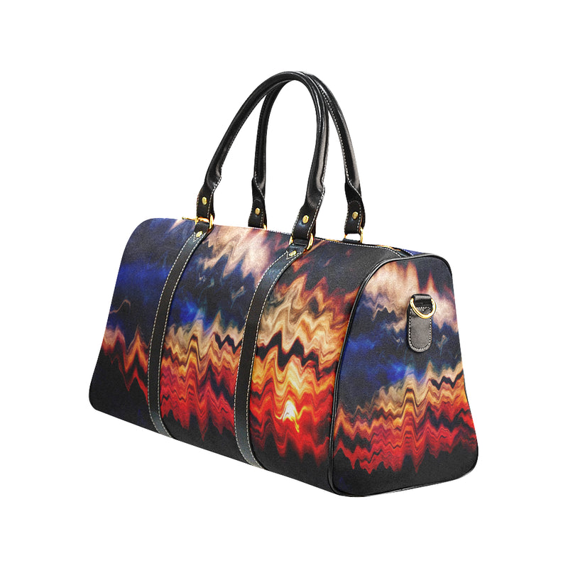 Melted Sunset New Waterproof Travel Bag/Small - ENE TRENDS