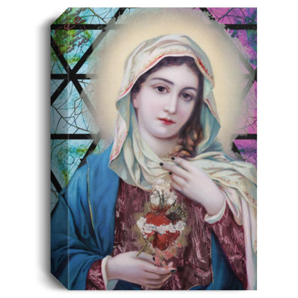 Mary Sacred heart Image Photo Canvas Painting mary sacred heart meaning find out at ENETRENDS