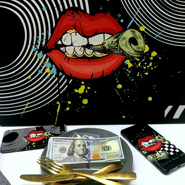 "Money Hungry ""An Appetite for a Mill"" Canvas Photo - ENE TRENDS"