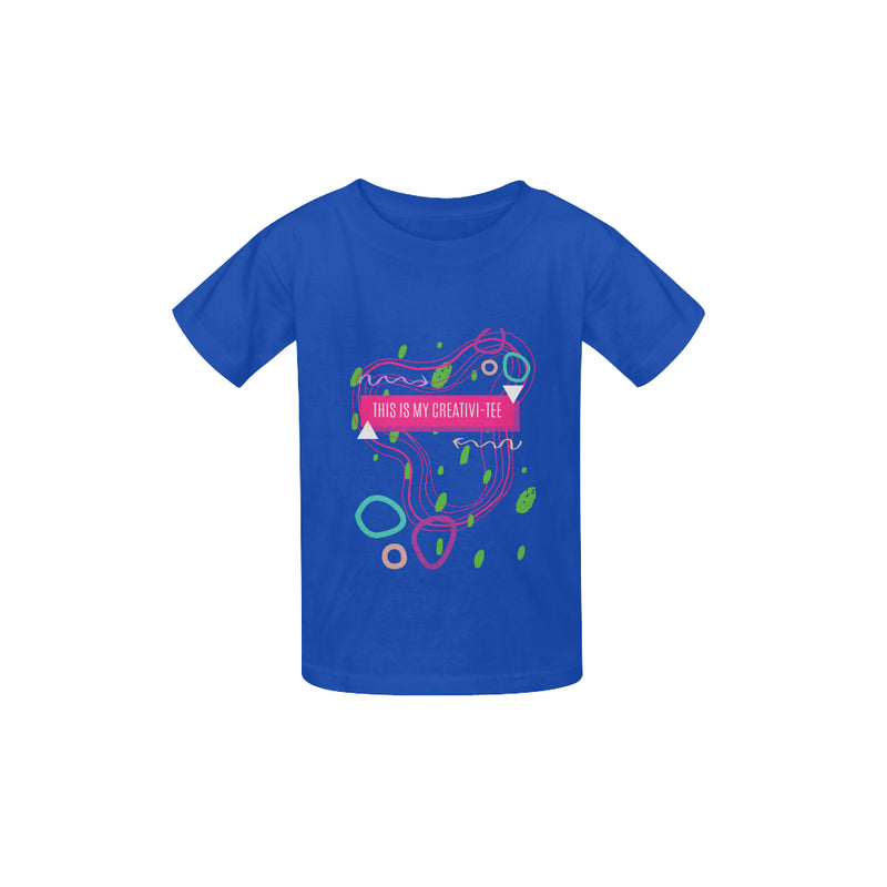 This Is My Creativi-Tee (Unisex/Blue)