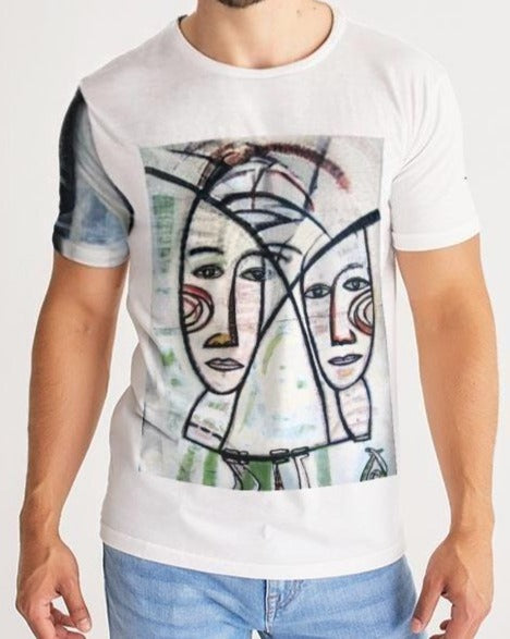 Abstract Gemini Men's Tee