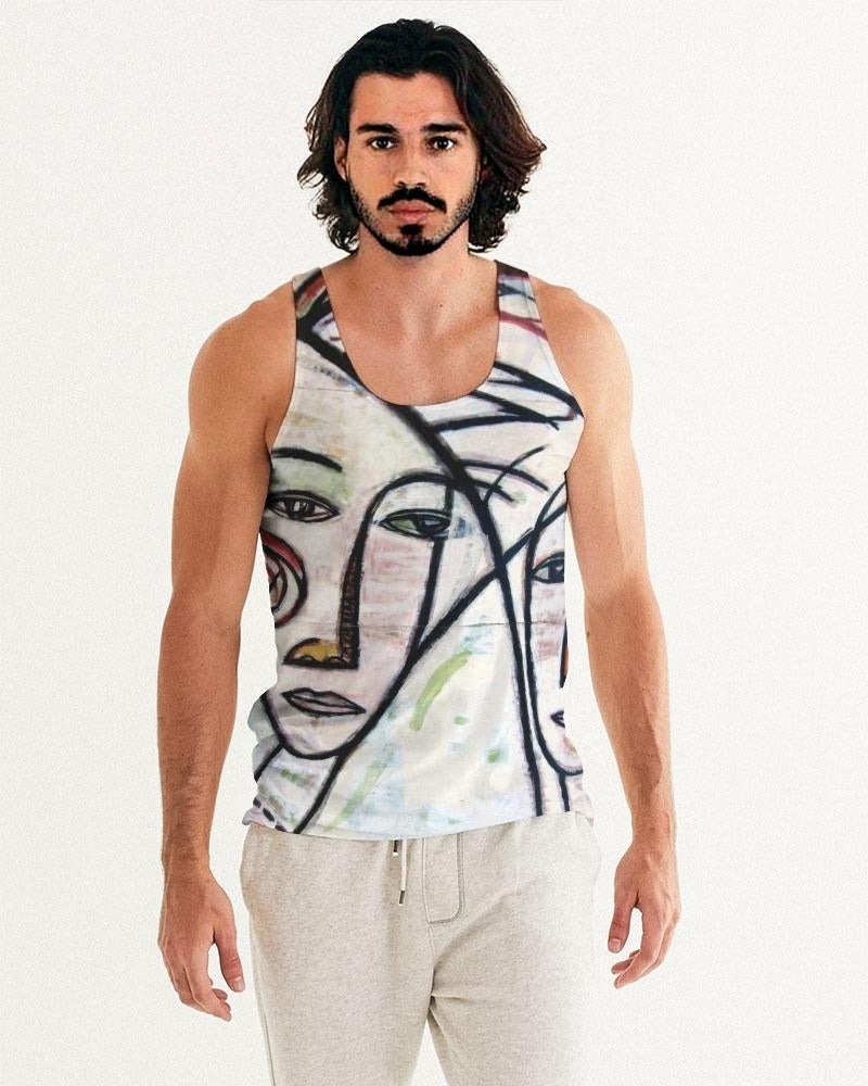 Abstract Gemini Men's Tank