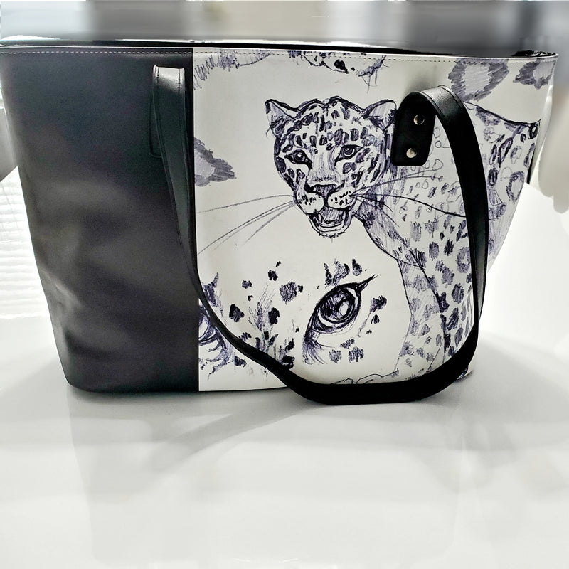 Hidden Dangers Handmade Stylish Womens Laptop Tote