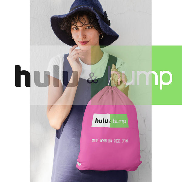Hulu & Hump Cotton Drawstring Bag
