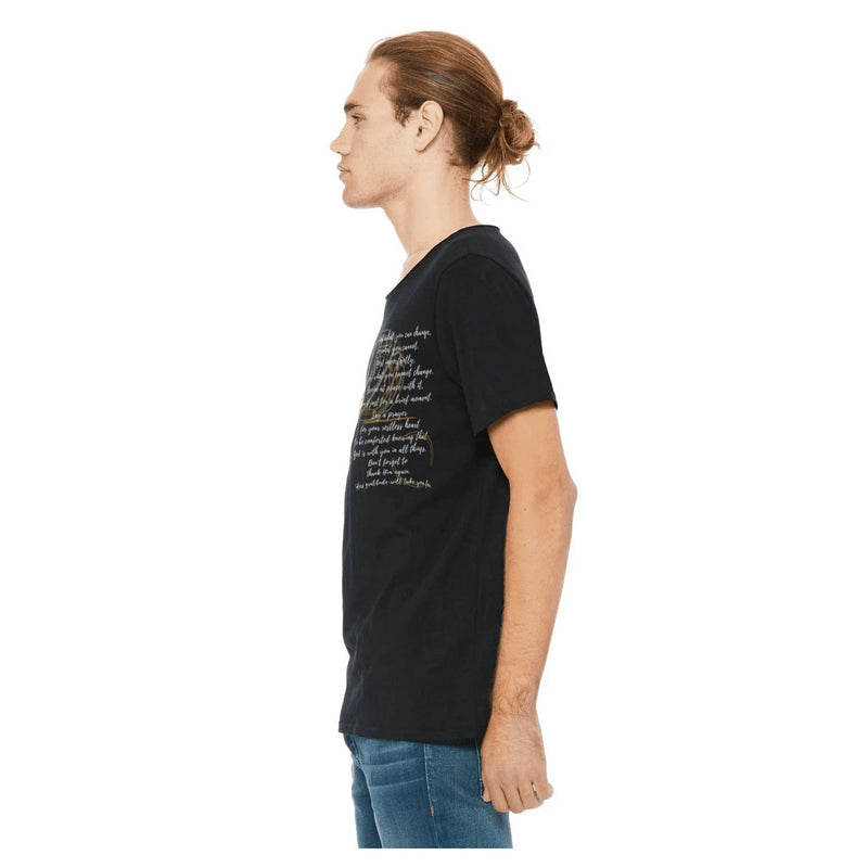 Note To Self Raw Neck T-shirt (Motive8Me Collection)