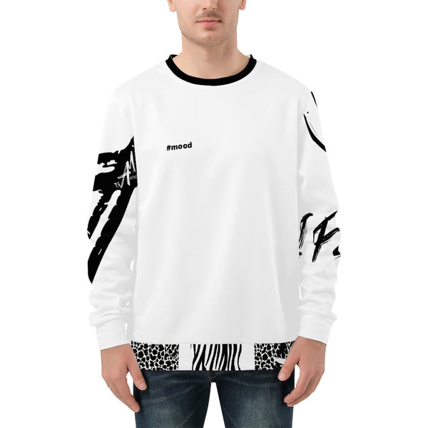 Mood Of Art Men's All Over Print Sweater by Art Manifested