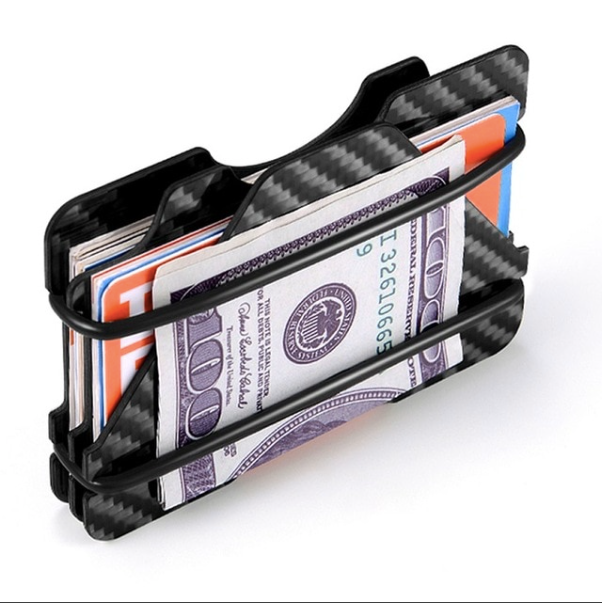 100% Carbon Fiber Credit Card Holder - ENE TRENDS