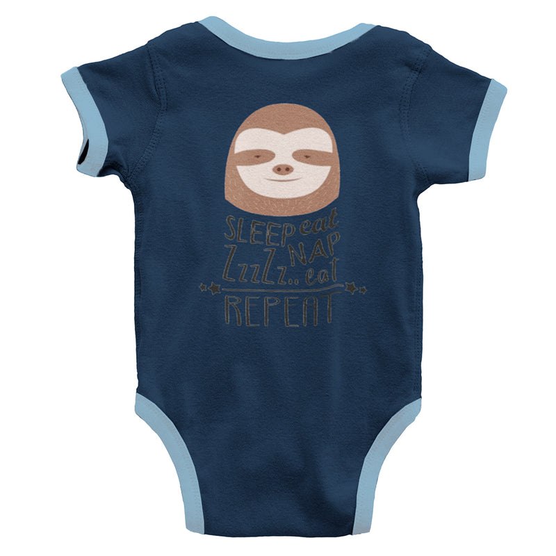 No Choice But To Chill Organic Sleeve Baby Bodysuit