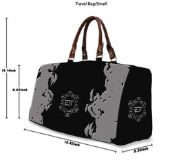 Customizable Waterproof Travel Duffle Bag - Small/Large