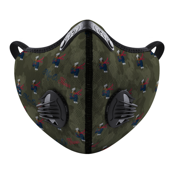 Men Ov Honor Camouflage Custom Face Mouth Mask
