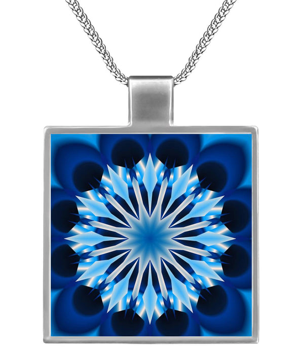 Ice Blue Lite Necklace - ENE TRENDS