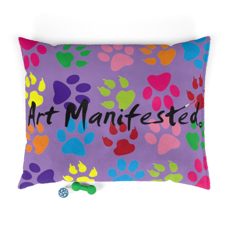 Pawfect Art Pet Bed in Purple (Free Shipping)