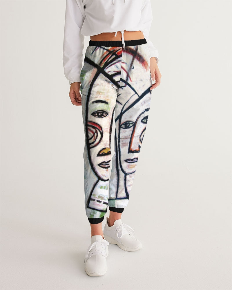 ABSTRACT GEMINI Women's Track Pants