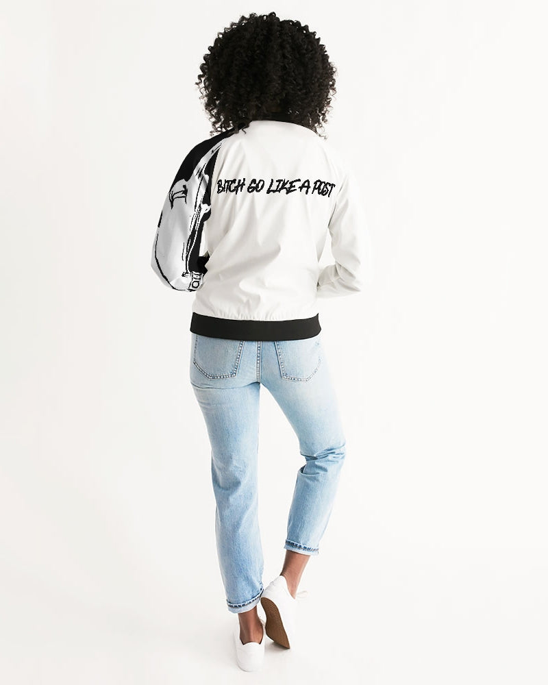 J.B. B*tch Go Like A Post Women's Bomber Jacket