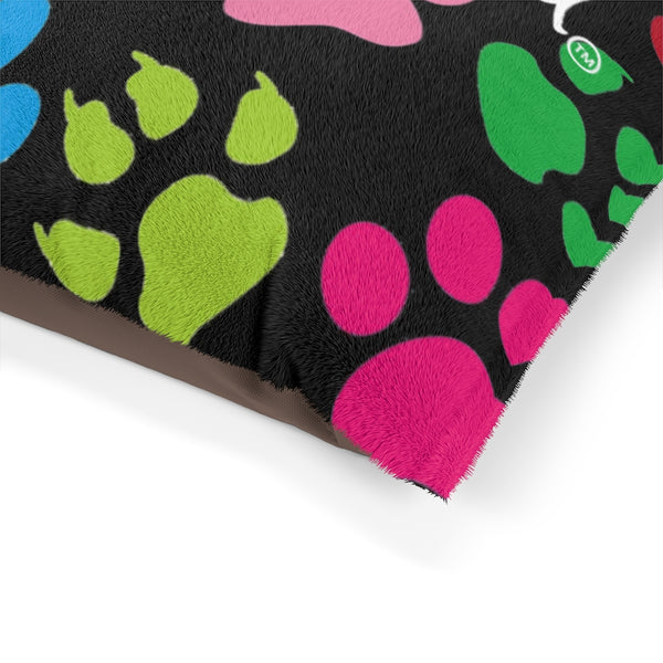 Pawfect Art Pet Bed In Black