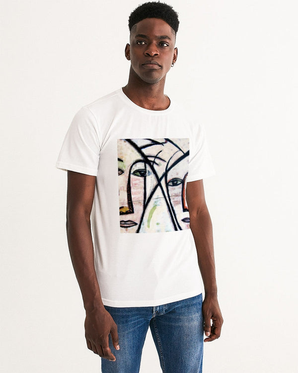 Abstract Gemini Men's Graphic Tee