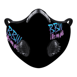 BBW Black Custom Face Cover Brian Angel Collection