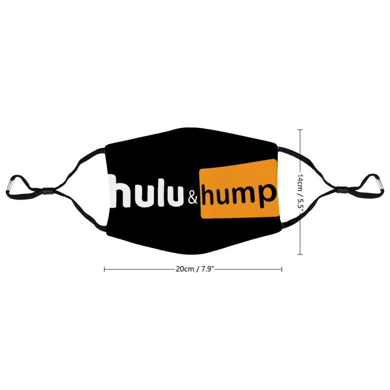 Hulu & Hump Customized Face Mouth Mask Cover