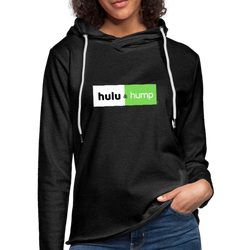 Hulu and & Hump Unisex Lightweight Terry Hoodie - charcoal gray