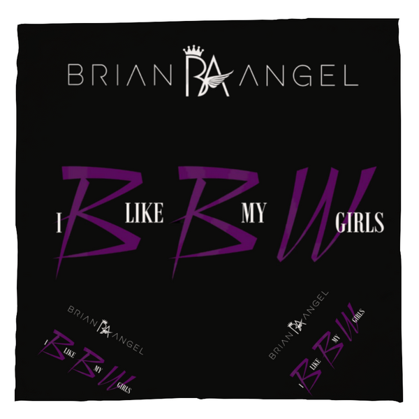 Brian Angel BBW Customized Kerchief Scarf Accessory