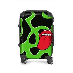 Tongue Out Custom Travel Luggage Bag (Made to order) - ENE TRENDS