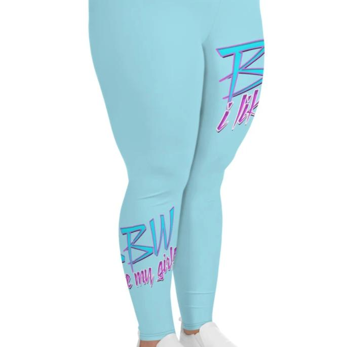 BBW Brain Angel Collection Plus Size Leggings