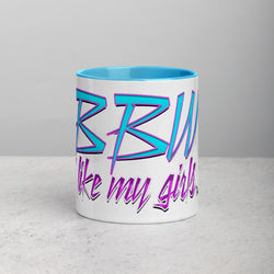 BBW Mug with Color Inside from Brian Angel Collection