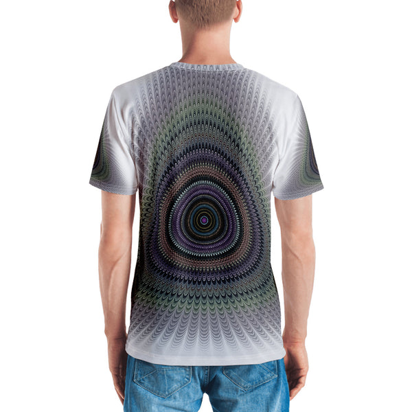 Peacock Men's T-shirt - ENE TRENDS