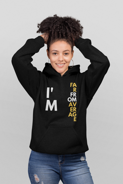 Far From Average Women's Classic Hoodie