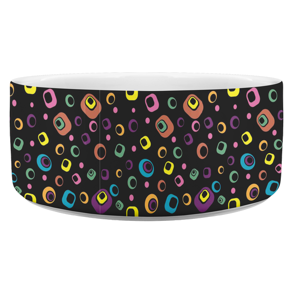 Doggie Dots Exclusive Art Design Dog bowl