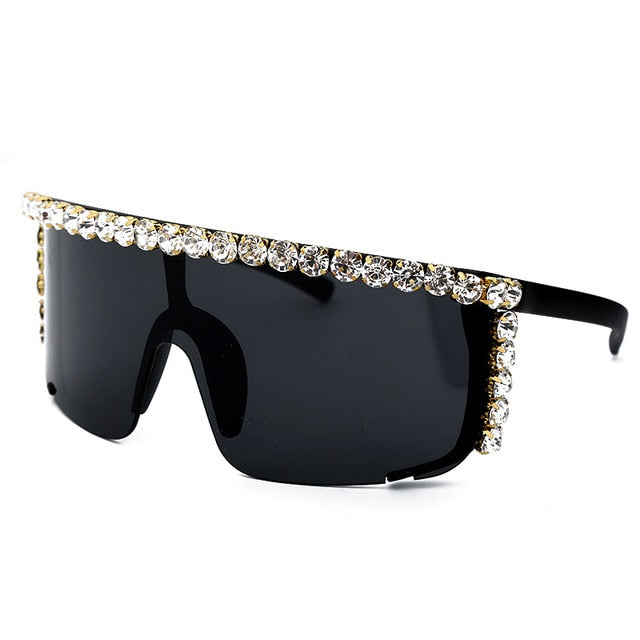 Isis Luxury Mirror Lens Diamond Sunglasses (6 Colors)