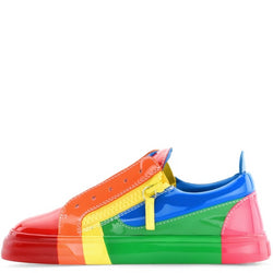 Retro Skittles Rainbow Color Men Casual Sneakers - ENE TRENDS