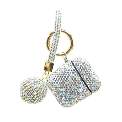 Luxury Crystal AirPod Case Cover w/Keychain