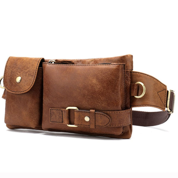 SHAY Genuine Leather Waist Pack