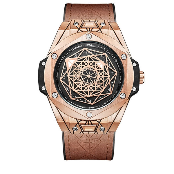 SACRED GEOMETRY CASUAL WATCH