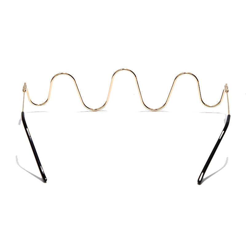 G.Gee Diamond Luxury Steampunk LensLess Frames