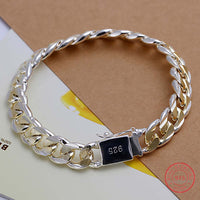 Roddy Exquisite 925 Sterling Silver Plated Fashion Jewelry Bracelet
