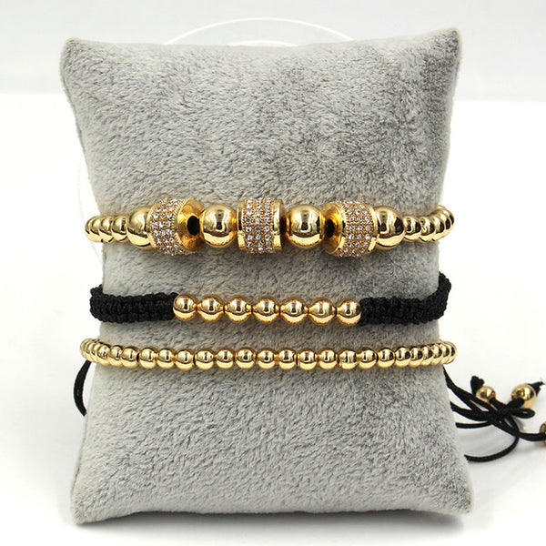IL CAPO 3Pcs/Set Luxury Bracelet Sets